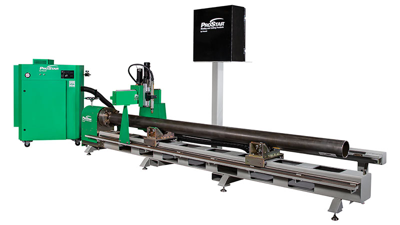 Praxair Lancer Pipe Cutting Machine