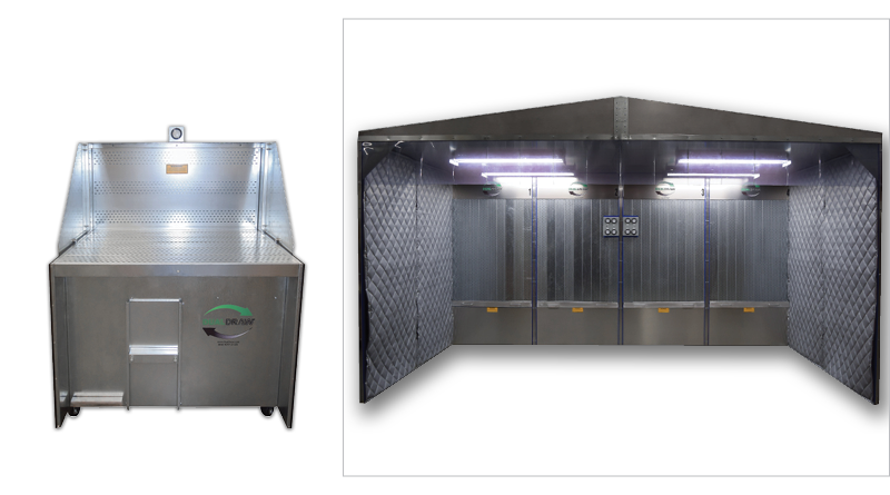 Praxair Downdraft Tables & Clean Air Stations