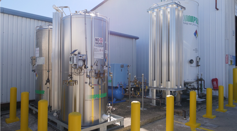 Praxair Microbulk Gas Delivery Systems