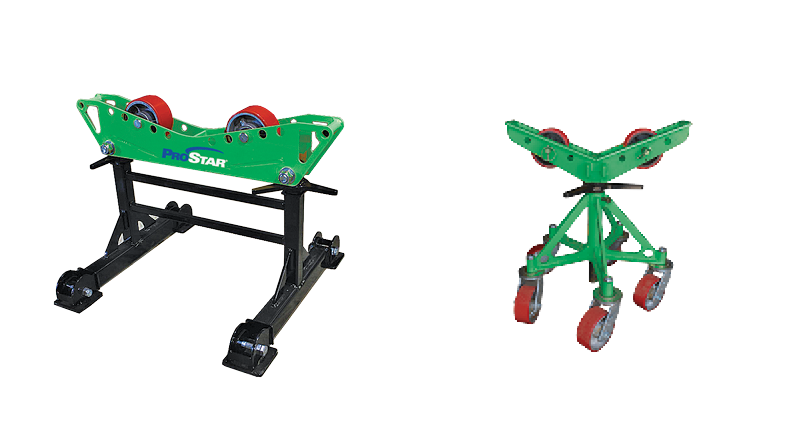 Praxair Pipe Rollers and Stands