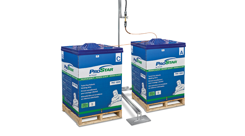 Praxair Robotic Wire Feed Systems