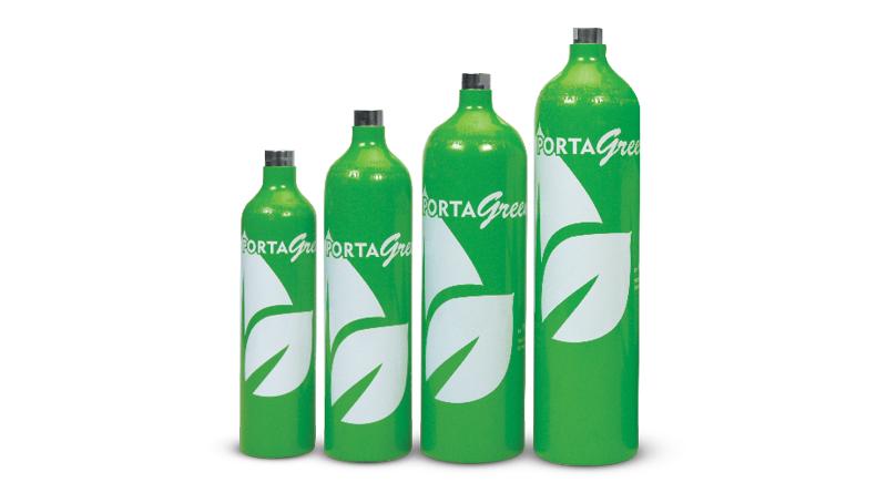 Praxair Portagas Portagreen Cylinders