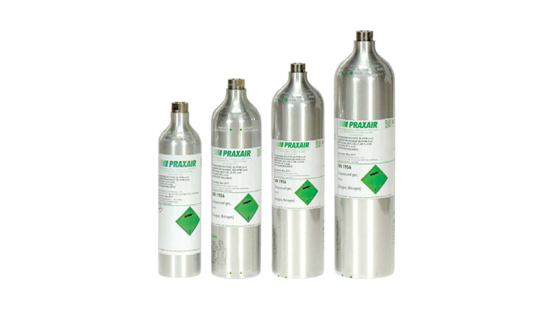 Praxair Refillable Transportable Cylinders